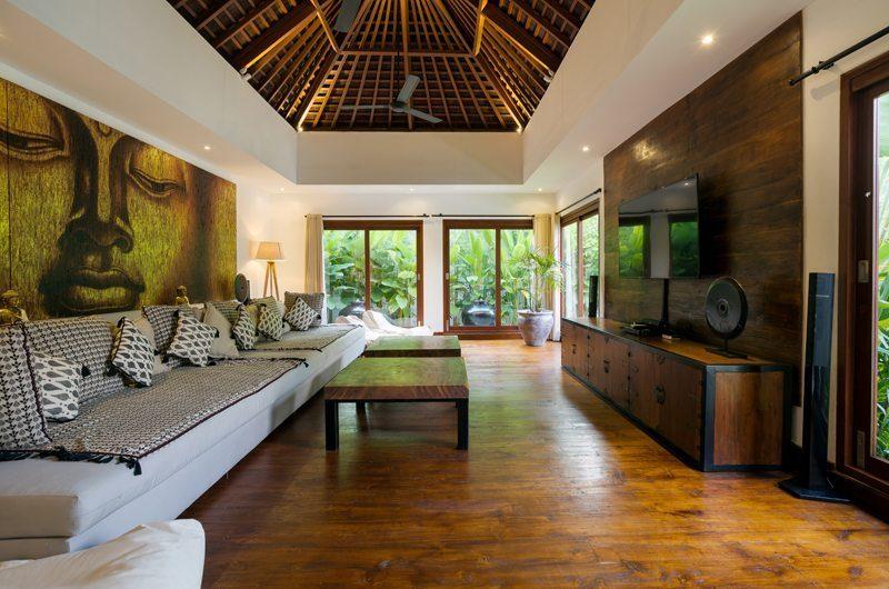 Villa Naty Lounge Area with TV, Umalas | 5 Bedroom Villas Bali