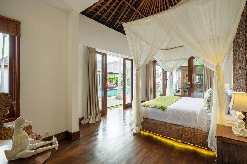 Villa Naty Bedroom with Pool View, Umalas | 5 Bedroom Villas Bali