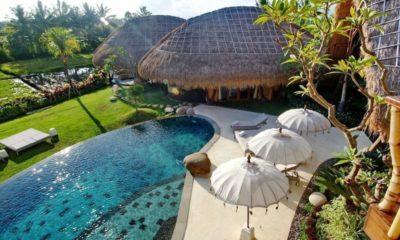 Villa Omah Padi Bird's Eye View | 5 Bedroom Villas Bali