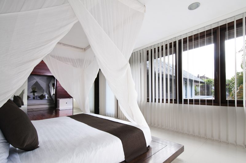 Villa Sabtu Bedroom with Outdoor View, Seminyak | 5 Bedroom Villas Bali