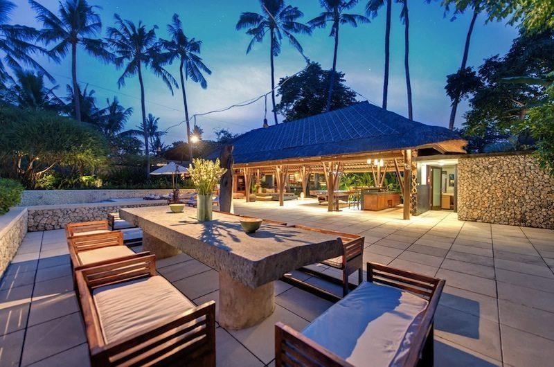 Villa Samadhana Outdoor Dining, Sanur | 5 Bedroom Villas Bali