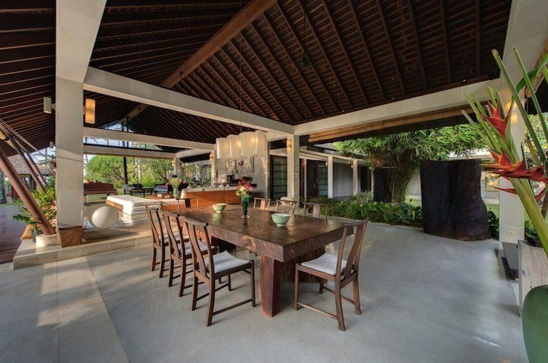 Villa Samadhana Dining Area, Sanur | 5 Bedroom Villas Bali