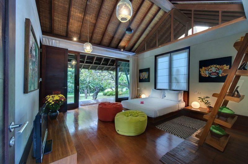 Villa Samadhana Bedroom with Seating Area, Sanur | 5 Bedroom Villas Bali