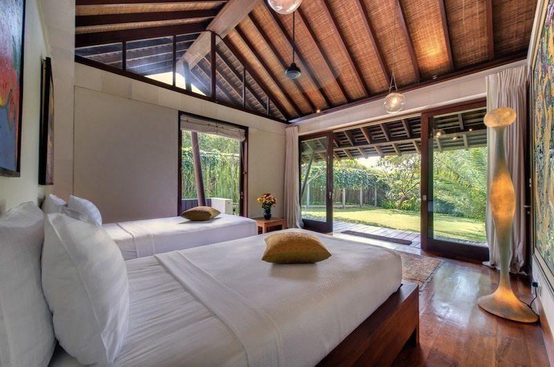 Villa Samadhana Bedroom with Garden View, Sanur | 5 Bedroom Villas Bali