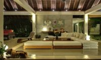 Villa Samadhana Lounge Area at Night, Sanur | 5 Bedroom Villas Bali