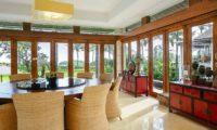 Villa Semarapura Indoor Dining Area, Seseh | 5 Bedroom Villas Bali