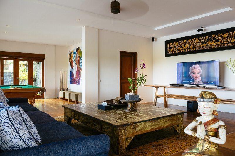 Villa Semarapura TV Room, Seseh | 5 Bedroom Villas Bali