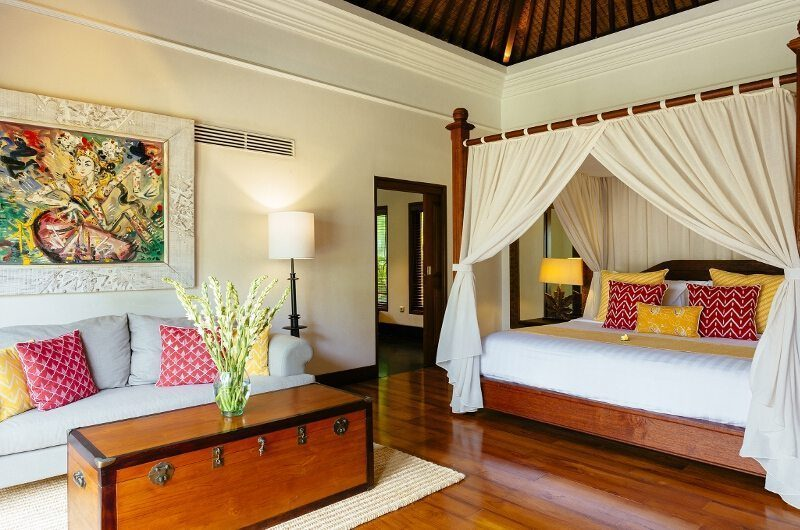 Villa Semarapura Bedroom with Sofa, Seseh | 5 Bedroom Villas Bali