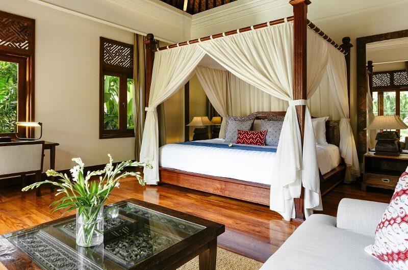 Villa Semarapura Bedroom with Wooden Floor, Seseh | 5 Bedroom Villas Bali
