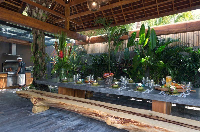 Villa Shambala Outdoor Dining, Seminyak | 5 Bedroom Villas Bali
