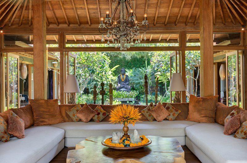 Villa Shambala Living Area, Seminyak   5 Bedroom Villas Bali