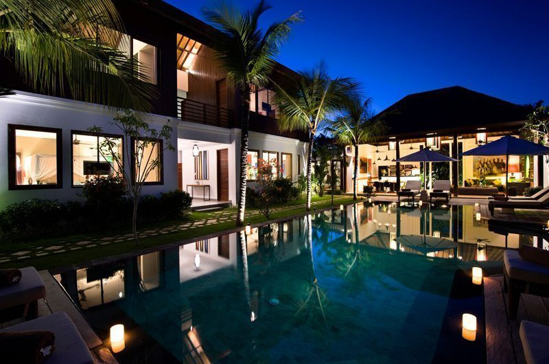 Villa Tangram Night View, Seminyak | 5 Bedroom Villas Bali