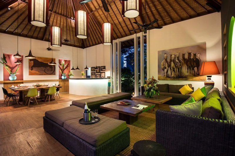 Villa Tangram Living and Dining Area, Seminyak | 5 Bedroom Villas Bali