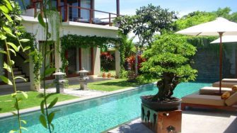 Villa Tenang Swimming Pool, Batubelig | 5 Bedroom Villas Bali