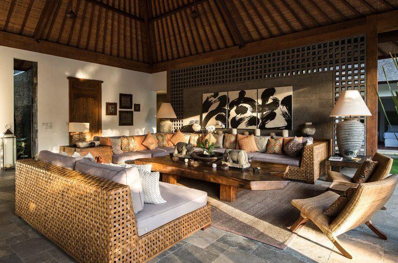 Villa Tiga Puluh Living Area, Seminyak | 5 Bedroom Villas Bali