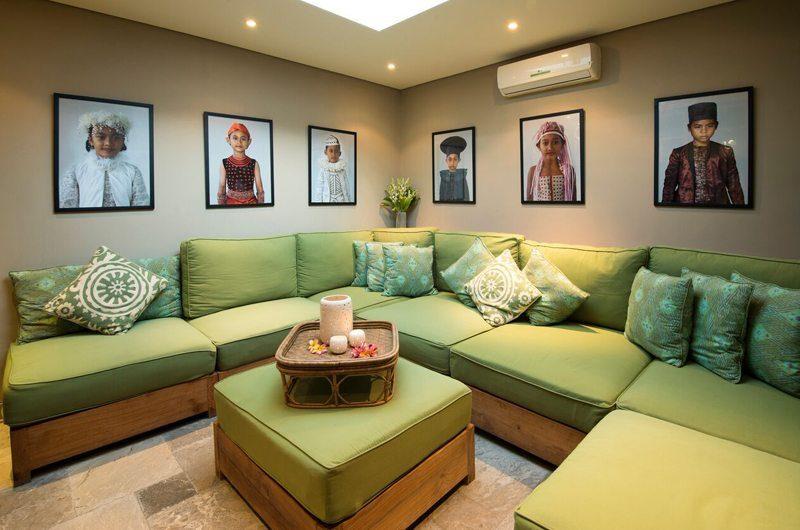 Villa Tiga Puluh Seating Area, Seminyak | 5 Bedroom Villas Bali