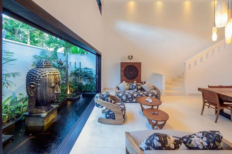 Villa Tjitrap Living and Dining Area, Seminyak | 5 Bedroom Villas Bali