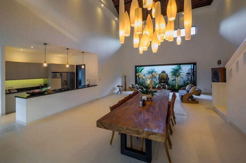 Villa Tjitrap Kitchen and Dining Area, Seminyak | 5 Bedroom Villas Bali