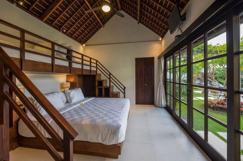 Villa Tjitrap Bedroom with Garden View, Seminyak | 5 Bedroom Villas Bali