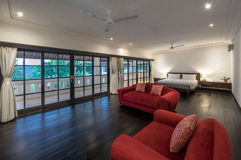 Villa Tjitrap Bedroom with Sofa, Seminyak | 5 Bedroom Villas Bali