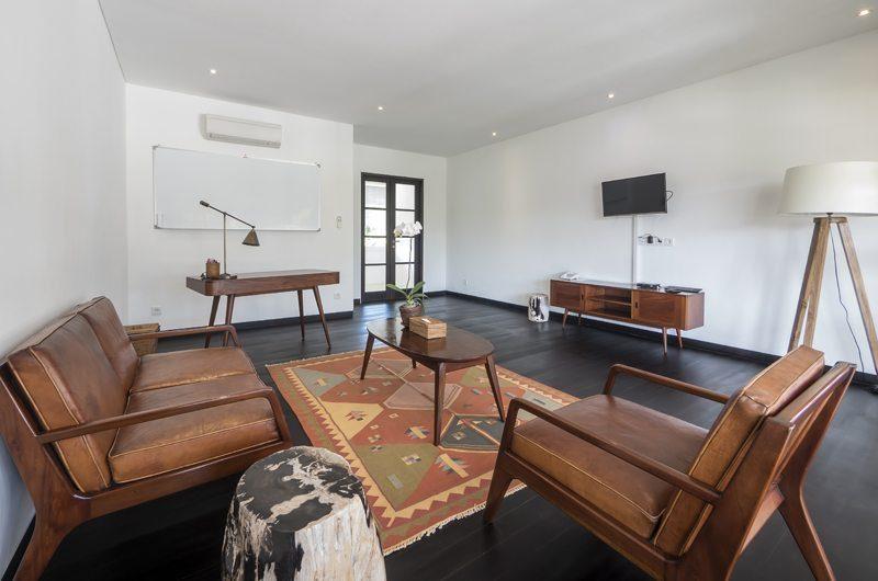 Villa Tjitrap Seating Area with TV, Seminyak | 5 Bedroom Villas Bali