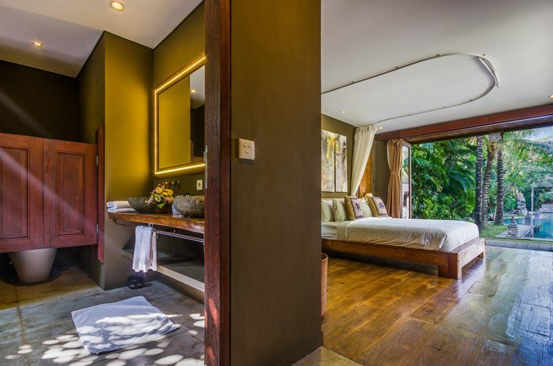 Villa Yoga Bedroom with Pool View, Seminyak | 5 Bedroom Villas Bali