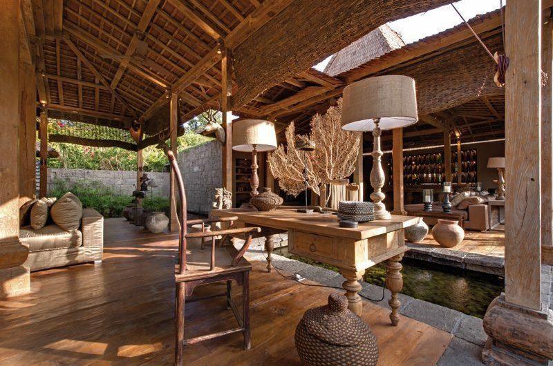 Villa Zelie Seating Area, Canggu | 5 Bedroom Villas Bali