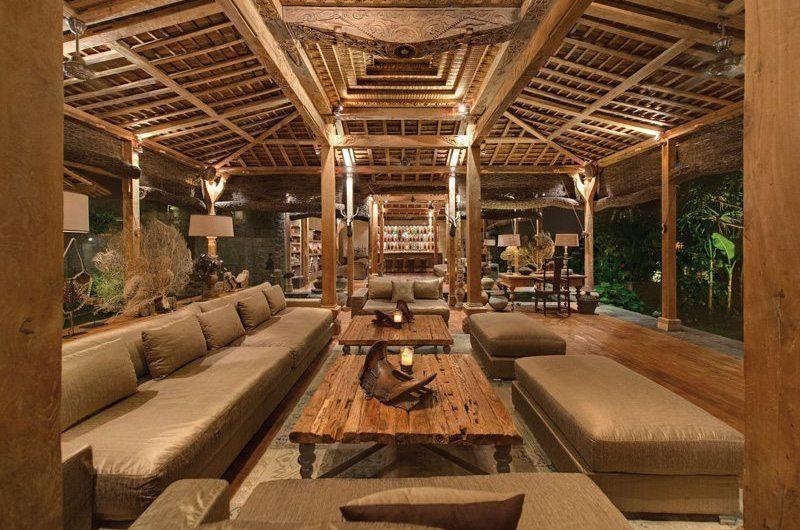 Villa Zelie Living Area, Canggu | 5 Bedroom Villas Bali