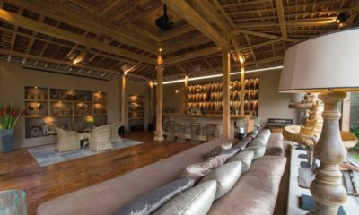 Villa Zelie Indoor Living and Dining Area, Canggu | 5 Bedroom Villas Bali